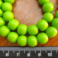 Solid Lime Green Ball Small