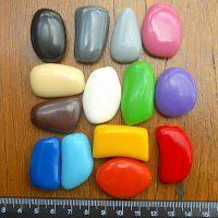 Mixed Bag of 12 Bedrock Pebbles